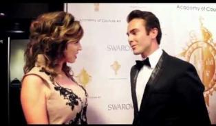Embedded thumbnail for  Academy of Couture Art, Anton KASABOV on the Red Carpet of Le Reve Fashion Show